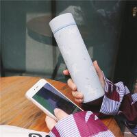 日韩少女独角兽圆筒保温杯随手可爱简约水杯304不锈钢随手杯子学生喝水保温杯子 350ml