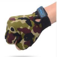 户外防滑护掌运动手套 训练半指透气 健身骑行男女哑铃器械护腕力量手套