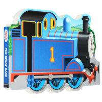 托马斯和他的朋友们 英文原版 Thomas and Friends The Great Race 托马斯小火车 造型纸