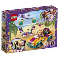 【当当自营】LEGO乐高积木 好朋友 Friends系列41390 安德里亚的汽车与舞台6岁+ 儿童玩具 女孩 新年生
