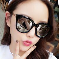 韩国太阳镜女 偏光圆脸墨镜潮明星款太阳眼镜网红同款