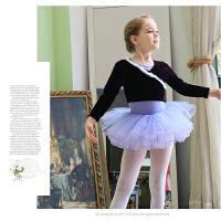 儿童舞蹈服装小外套芭蕾舞裙女童加厚金丝绒幼儿练功服披肩