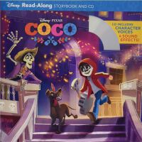 Coco Read-Along Storybook and CD 寻梦环游记 迪士尼
