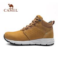camel骆驼户外工装鞋 秋冬情侣减震防滑磨砂皮男女工装靴