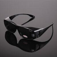 近视户外太阳镜套镜司机镜夹片墨镜钓鱼开车男 偏光镜驾驶眼镜