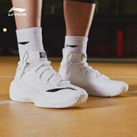 李宁篮球鞋男音速VI V2高帮减震耐磨包裹战靴秋冬季运动鞋ABAN027
