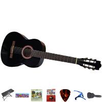 Saysn思雅晨39寸古典吉他初学入门练习jita木吉它尼龙弦初学吉他