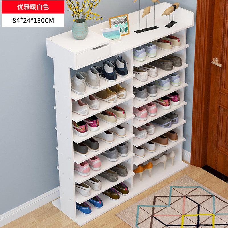鞋架多层简易家用经济型省空间鞋柜宿舍简约现代门口收纳小鞋架子 多层收纳简约实用省空间