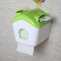 【新品特惠】飞屋环游记防水厕纸盒 卫生间浴室纸巾架 糖果屋抽纸收纳盒手机座