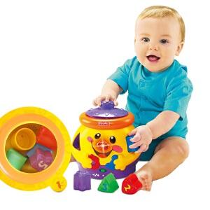 [当当自营]Fisher Price 费雪 小可爱曲奇罐 双语 婴儿玩具 V8725