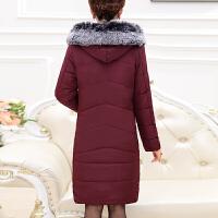 中年女冬装棉衣30-40-50岁2018新款毛领棉袄妈妈秋冬外套羽绒