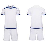 2018光板足球服套装男儿童球衣定制小学生训练服短袖印号DIY