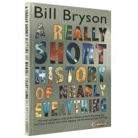 正版万物简史 英文原版科普读物 A Short History of Nearly Everything 比尔布莱森