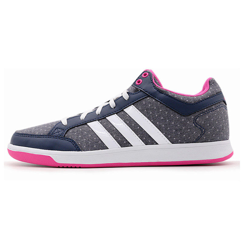 阿迪达斯Adidas AW5019女鞋运动鞋 低帮休闲网球鞋防滑板鞋 减震 防滑 耐磨