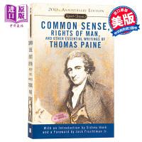 【中商原版】Common Sense 英文原版书籍 美国独立宣言 英文原版 经典文学 文学小说