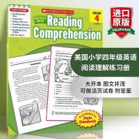 美国小学四年级英语阅读理解练习册scholastic Success with Reading comprehensi