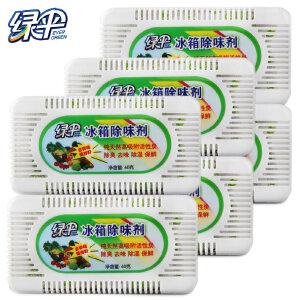 绿伞冰箱除味剂活性炭包60gX6盒 冰箱除臭剂盒吸湿盒
