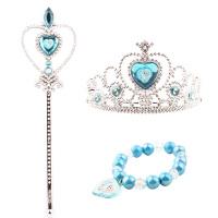 儿童皇冠饰品冰雪奇缘公主发饰头箍发箍魔法棒女童女孩玩具