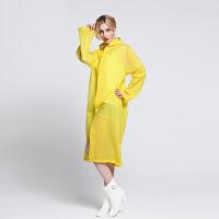 成人旅游雨衣男女式学生时尚装防水长款加厚雨披非一次性雨衣