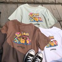 2018青少年短袖t恤11夏季12大童13男孩夏装15岁初中学生纯棉半袖