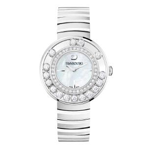 SWAROVSKI施华洛世奇可转动水晶表女钢带石英女士手表1160307