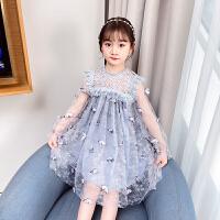 女童连衣裙春装儿童春秋长袖蕾丝公主裙子潮