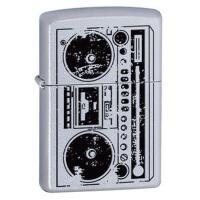 美国原装芝宝Zippo打火机 24484雅皮士单卡录音机BBOX