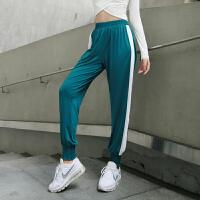 宽松收口运动裤女跑步长裤显瘦速干健身裤学生户外休闲裤秋季