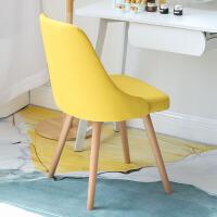 【满减优惠】椅子家用网红化妆椅学习书桌椅子靠背卧室书房电脑椅实木餐椅北欧
