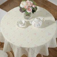 欧式茶几塑料pvc大圆形餐桌小圆桌桌布防水防烫防油免洗台布家用