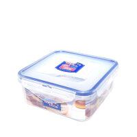 乐扣乐扣塑料保鲜盒HPL854正方形便当盒饭盒储物盒600ml
