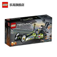 LEGO乐高积木 机械组Technic系列 42103 亮绿色改装赛车 玩具礼物