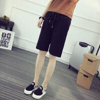 运动短裤女夏季2018新款五分裤学生宽松原宿中裤bf风韩版ulzzang
