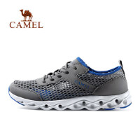 CAMEL骆驼户外 越野跑步溯溪鞋网布透气徒步休闲男鞋