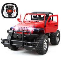 遥控车超大号越野攀爬可一键开门悍马汽车模型玩具车可充电男孩玩具