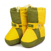 宝宝软底鞋高帮婴幼儿加绒保暖棉鞋男女童防水婴儿鞋子