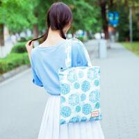 帆布包少女学生韩版书包单肩原宿ulzzang布袋简约百搭