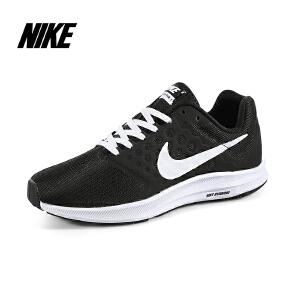 耐克Nike 夏季黑色女子休闲运动跑步鞋 WMNS DOWNSHIFTER 7