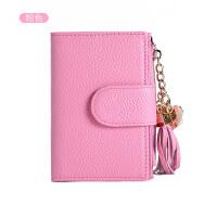 真皮钥匙包卡包女大容量 零钱包多功能韩国实用迷你钥匙小包