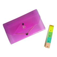 糖果彩色 A6 风琴包整理包 清新糖果色风琴包 资料包票据包 多层文件夹