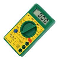 数显表防烧万用表 数字万用表 小型袖珍高精度电表带表笔