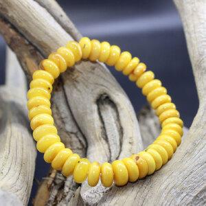波罗的海天然蜜蜡算盘珠手串