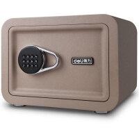【下单立减30元】得力16651时尚系列保管箱 入墙入柜电子密码箱