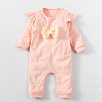 婴儿童连体衣服01岁3个月宝宝季新生儿衣服冬装长袖连体衣