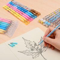 晨光铅笔小学生下蛋笔儿童卡通可爱创意子弹自动免削导弹轻写不断 素描文具用品批发套装活动hb
