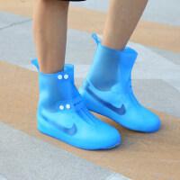 透明加厚PVC雨鞋防滑胶鞋户外中筒雨鞋套防雨天加厚耐磨鞋套