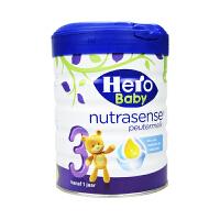 【当当海外购】荷兰本土美素Hero Baby 婴幼儿配方奶粉3段 700g(1-2岁宝宝) 白金版