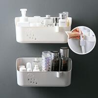 居家家免打孔卫生间置物架浴室壁挂洗发水收纳架洗漱台杂物整理架