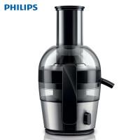 飞利浦(PHILIPS) 榨汁机 家用大口径电动防滴漏便携式迷你果汁机(HR1871系列) HR1863/00金属质感