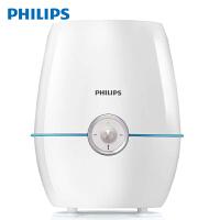 飞利浦 (PHILIPS) 加湿器 家用办公室卧室 静音加湿4L大容量 上加水 纳米无雾 HU4901/00(亮白色+